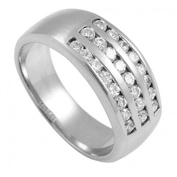Prsten se zirkony RSDE04