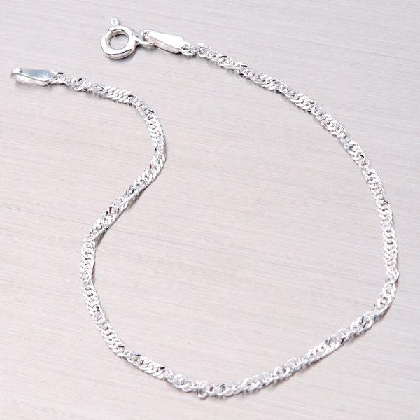 Stříbrný náramek lambáda SING-030