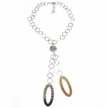 Stříbrný náhrdelník S003