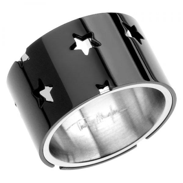 Prsten z chirurgické oceli Thierry Mugler T21119N