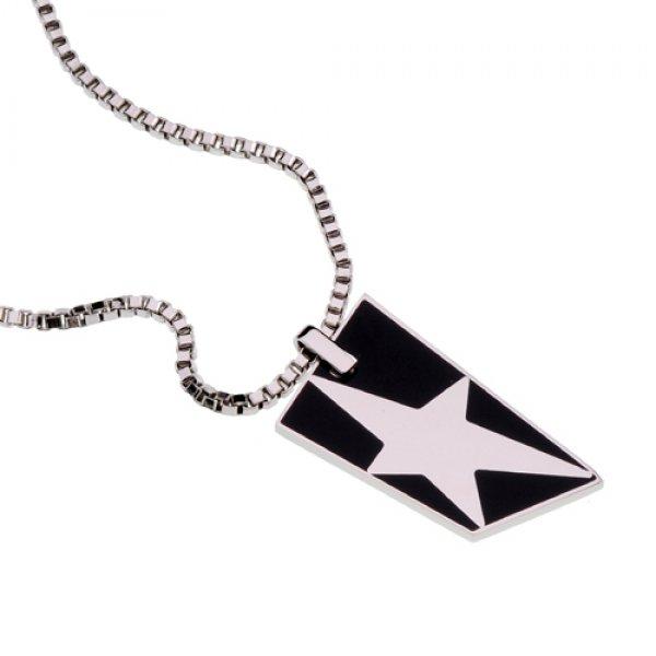 Ocelový náhrdelník Thierry Mugler T41113N