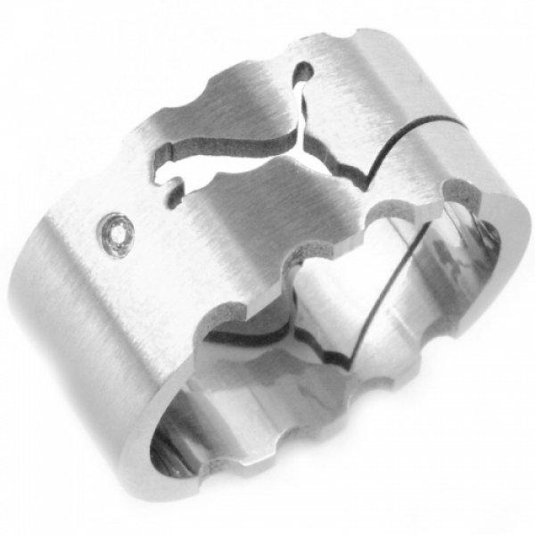 Ocelový prsten 233071