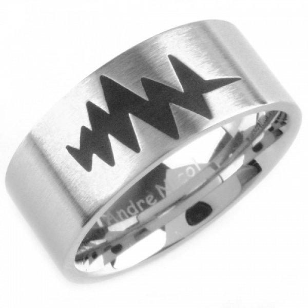 Ocelový prsten 230888B