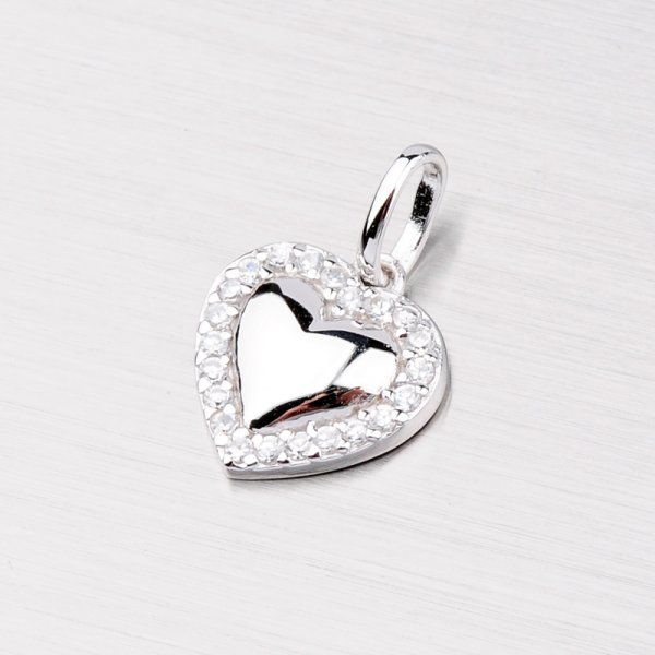 Srdce stříbrné TPCH2043