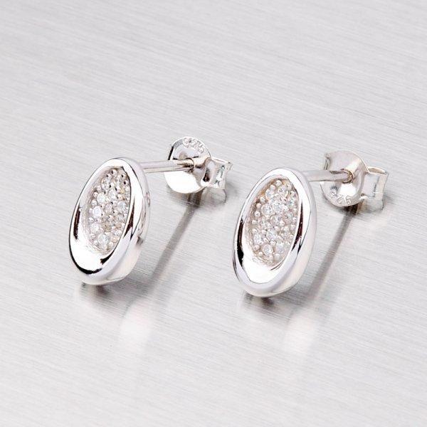 Elegantní náušnice ze stříbra WTE0255